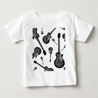 エレキギター ベビーTシャツ