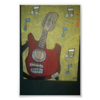 エレキギター ポスター