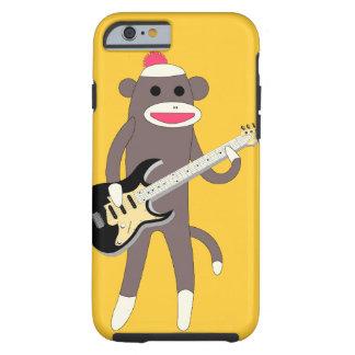 エレキギター- iPhone 6カリフォルニアが付いている猿の石を強打して下さい ケース