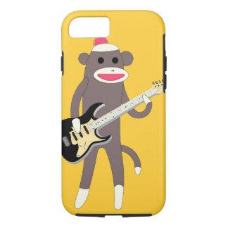 エレキギター- iPhone 7カリフォルニアが付いている猿の石を強打して下さい iPhone 8/7ケース
