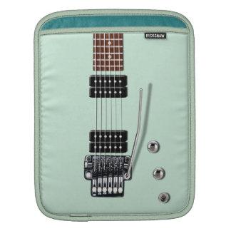 エレキギターSeafoam iPad 用スリーブ