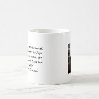 エレノア・ルーズベルトのマグ-生命 コーヒーマグカップ
