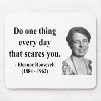エレノア・ルーズベルトの引用文2b マウスパッド