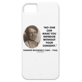 エレノア・ルーズベルトは誰も劣ったようにすることができます iPhone SE/5/5s ケース