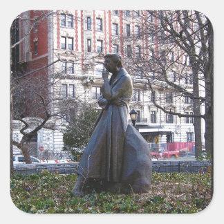 エレノア・ルーズベルト記念碑 スクエアシール