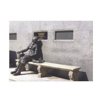 エレノアRigbyの彫像、リヴァプール、イギリス キャンバスプリント
