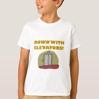 エレベーターと Tシャツ