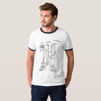 エレベーターエンジニア(オーティスのエレベーターのパテント) Tシャツ