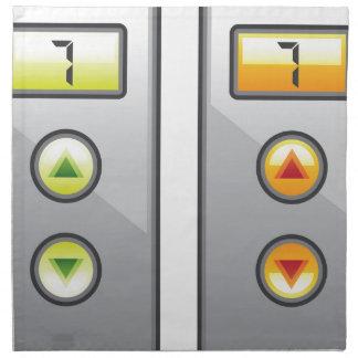 エレベーターボタン ナプキンクロス