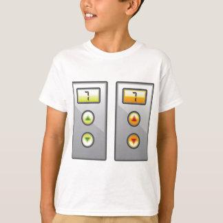 エレベーターボタン Tシャツ