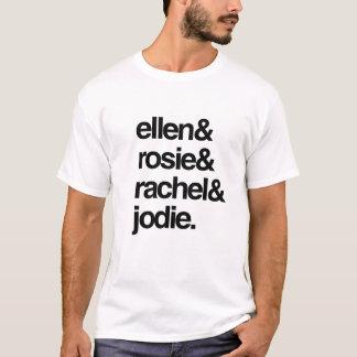 エレンRosieレイチェルおよびJodie Tシャツ