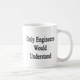 エンジニアだけ理解します コーヒーマグカップ