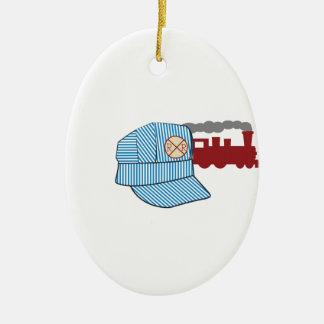 エンジニアの帽子 セラミックオーナメント