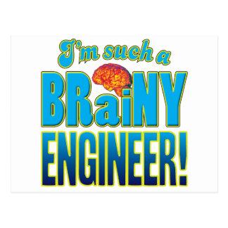エンジニアの聡明な頭脳 ポストカード