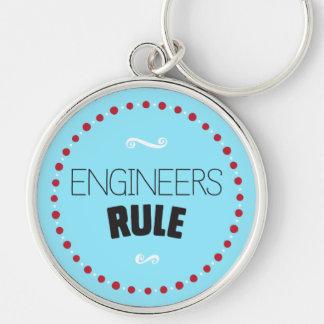 エンジニアの規則Keychain -青 キーホルダー