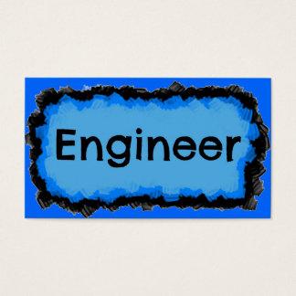 エンジニアの青い雲の名刺 名刺
