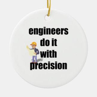 エンジニアは精密とのそれをします セラミックオーナメント