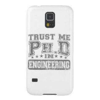 エンジニアリングで私をPh.D信頼して下さい Galaxy S5 ケース