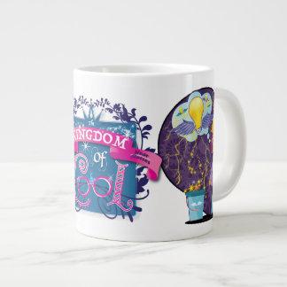 エンジニアリングのプリンセス ジャンボコーヒーマグカップ
