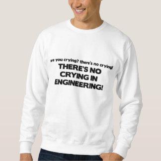 エンジニアリングの泣き叫び無し スウェットシャツ