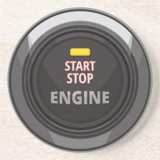 エンジンのスタート・ストップ方式ボタン コースター