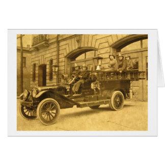 エンジン第34 Vintage Fire Company カード