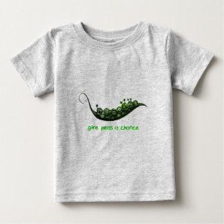 エンドウ豆 ベビーTシャツ
