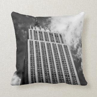 エンパイア・ステート・ビルディングの写真、ニューヨークシティ クッション