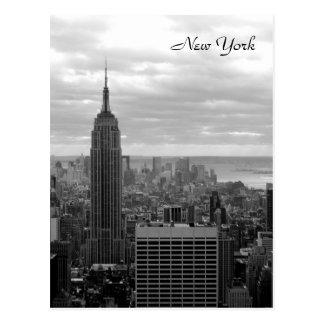エンパイア・ステート・ビルディング(黒及び白) ポストカード