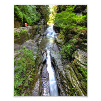 エンフィールドの谷間、ロバートTremanの州立公園、ニューヨーク フォトプリント