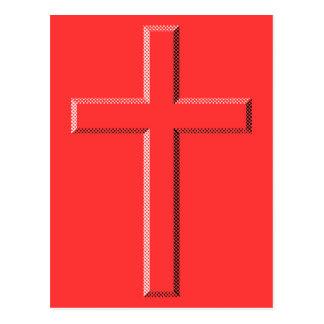 エンボスの十字 ポストカード