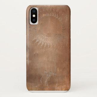 エンボスのdreamcatcher iPhone x ケース
