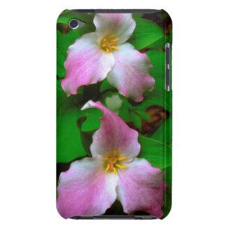 エンレイソウの野生の花 Case-Mate iPod TOUCH ケース