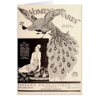 エヴァリンのコクガン1927年の無声映画の展示者の広告 カード