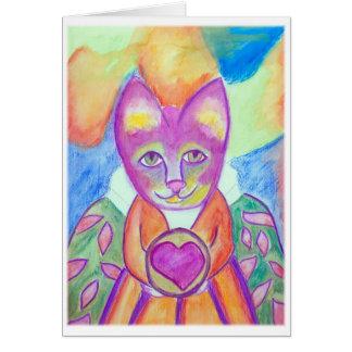 エヴァリンAbston著Heartdreams猫1 カード