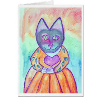 エヴァリンAbston著Heartdreams猫2 カード