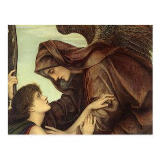 エヴァリンDeモーガン著死の天使 ポストカード