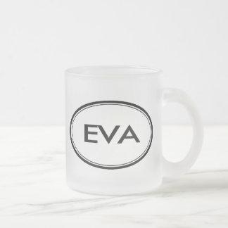 エヴァ フロストグラスマグカップ