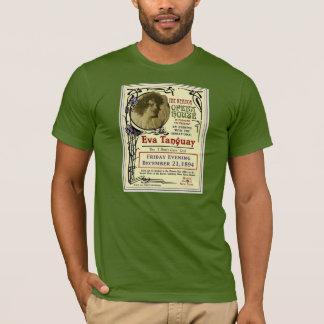 エヴァTanguay Keatorのオペラハウスのアールヌーボーポスター Tシャツ