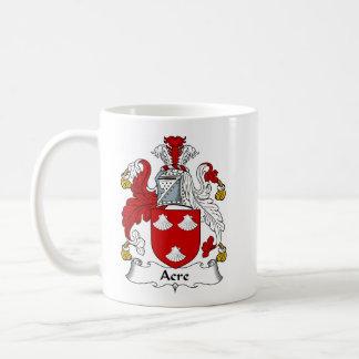 エーカー頂上古代家族の紋章付き外衣 コーヒーマグカップ
