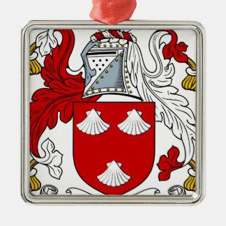 エーカー頂上古代家族の紋章付き外衣 メタルオーナメント