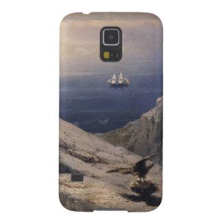 エーゲ海の岩石海岸風景 GALAXY S5 ケース