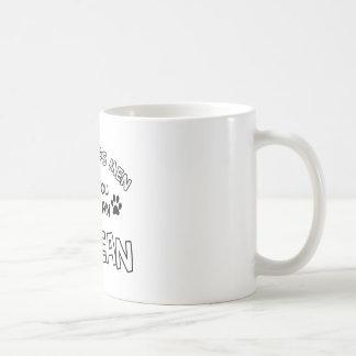 エーゲ海猫の品種デザイン コーヒーマグカップ