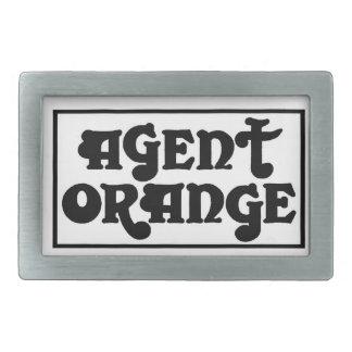 """エージェント・オレンジ""""Amp""""のスケートのパンクのベルトの留め金 長方形ベルトバックル"""