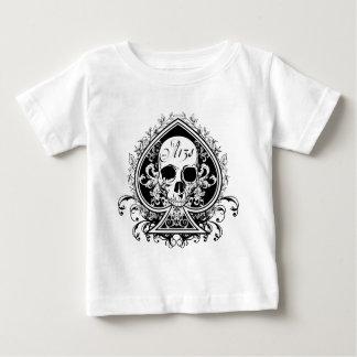 エースのスカル ベビーTシャツ