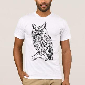 エースの知恵- Bokutoのフクロウ-漢字版 Tシャツ