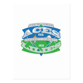 エースユリのロゴの記念品 ポストカード
