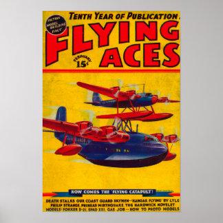 エース・パイロットの雑誌カバー2 ポスター