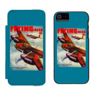 エース・パイロットの雑誌カバー5 INCIPIO WATSON™ iPhone 5 財布 ケース
