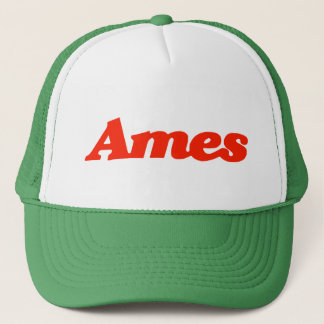エームズのトラック運転手の帽子 キャップ